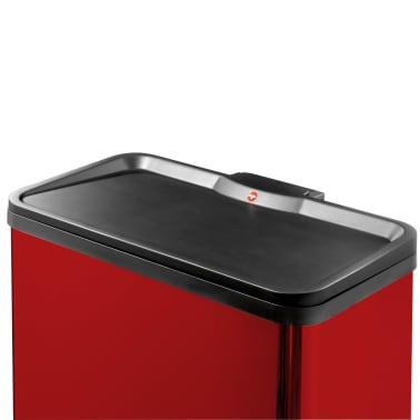 Hailo Cubo con pedal Oko Duo Plus tamaño L 17+9 L rojo 0630-240[2/9]
