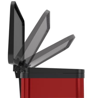 Hailo Cubo con pedal Oko Duo Plus tamaño L 17+9 L rojo 0630-240[4/9]