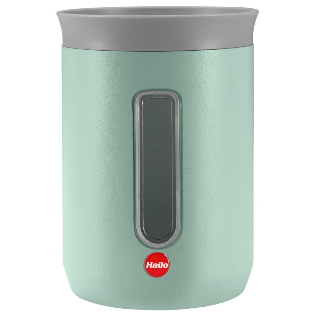 Afbeelding van Hailo KitchenLine Design Opslagcontainer 0,8 L mat mintgroen 0833-975