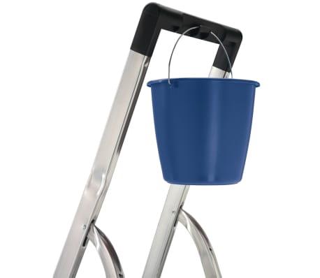 hailo trittleiter l40 3 stufen 125 cm aluminium 8140 307 g nstig kaufen. Black Bedroom Furniture Sets. Home Design Ideas