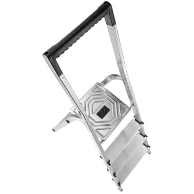 hailo haushaltsleiter l40 4 stufen 146 cm aluminium 8140 407 im vidaxl trendshop. Black Bedroom Furniture Sets. Home Design Ideas