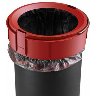 Hailo Papelera con pedal Pure tamaño M 12 L blanca 0517-090[8/10]