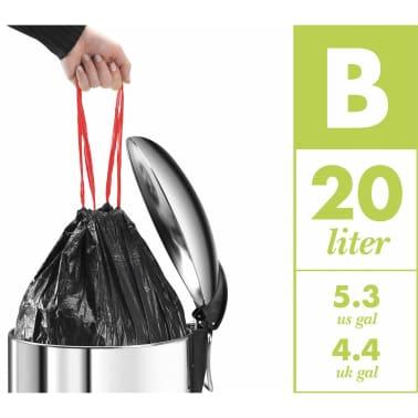 Hailo Papelera con pedal Pure tamaño M 12 L blanca 0517-090[10/10]
