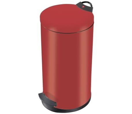 Hailo Kosz na śmieci z pedałem T2, rozmiar L, 19 L, czerwony, 0520-839[2/9]