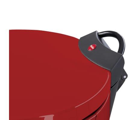 Hailo Kosz na śmieci z pedałem T2, rozmiar L, 19 L, czerwony, 0520-839[3/9]