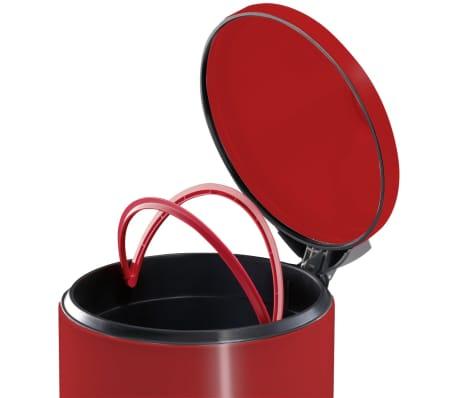 Hailo Kosz na śmieci z pedałem T2, rozmiar L, 19 L, czerwony, 0520-839[4/9]