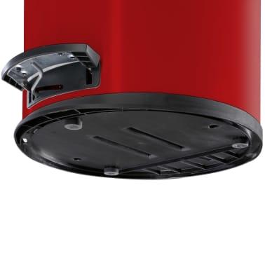 Hailo Kosz na śmieci z pedałem T2, rozmiar L, 19 L, czerwony, 0520-839[6/9]