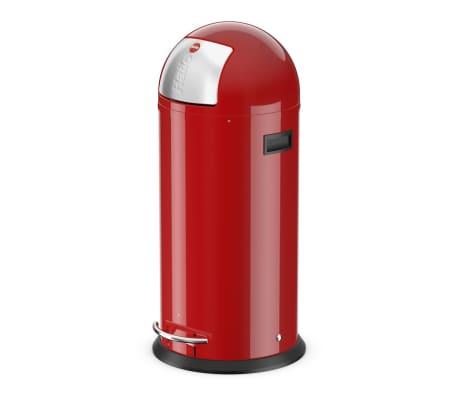 Hailo Cubo  de basura con pedal KickMaxx XL 36 L rojo 0850-579