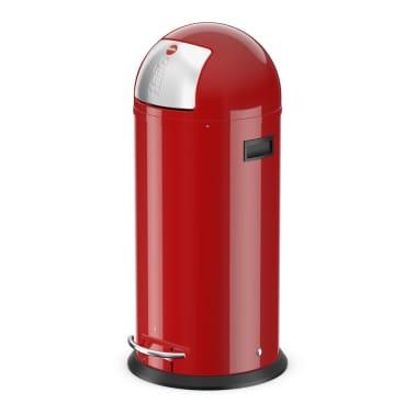 Hailo Cubo  de basura con pedal KickMaxx XL 36 L rojo 0850-579[1/8]