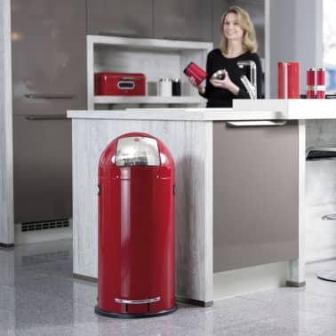 Hailo Cubo  de basura con pedal KickMaxx XL 36 L rojo 0850-579[6/8]