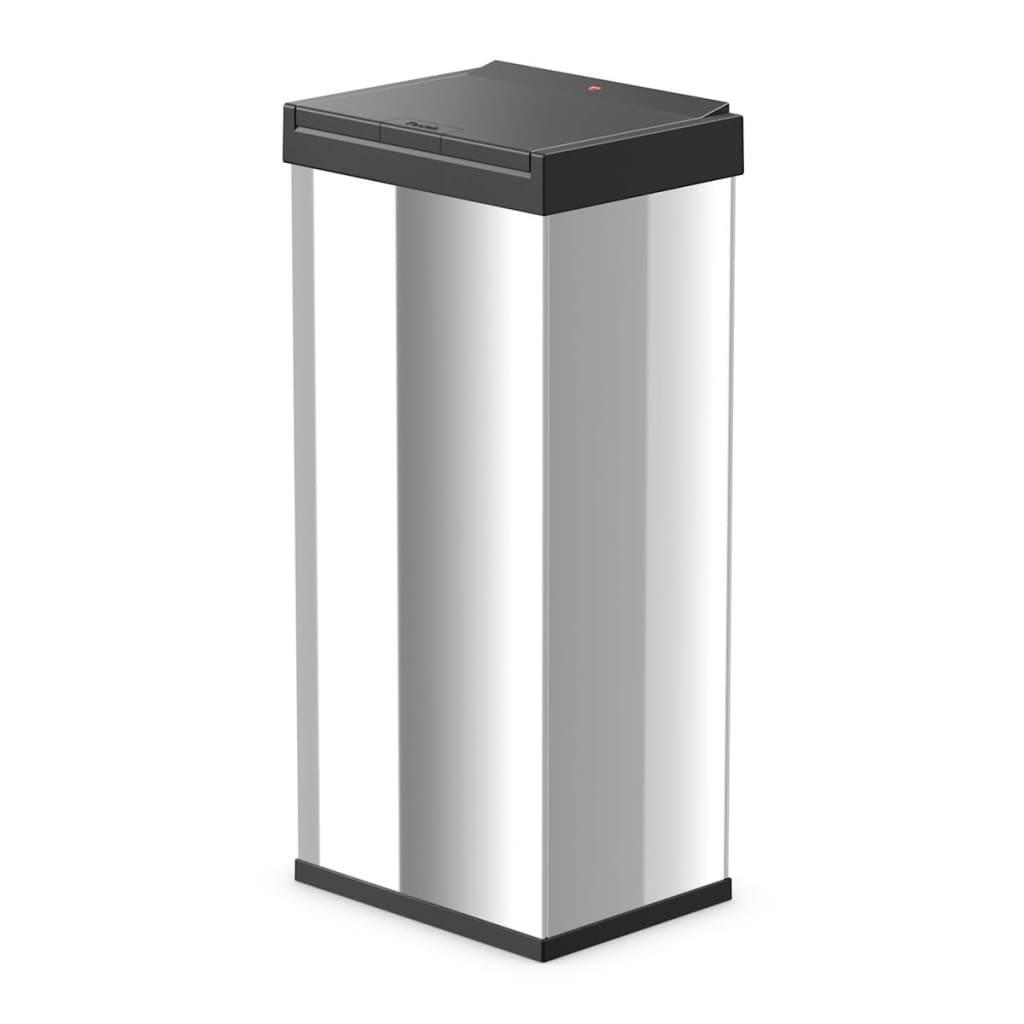 Afbeelding van Hailo Afvalbak Big-Box Touch maat XL 52 L roestvrij staal 0860-101