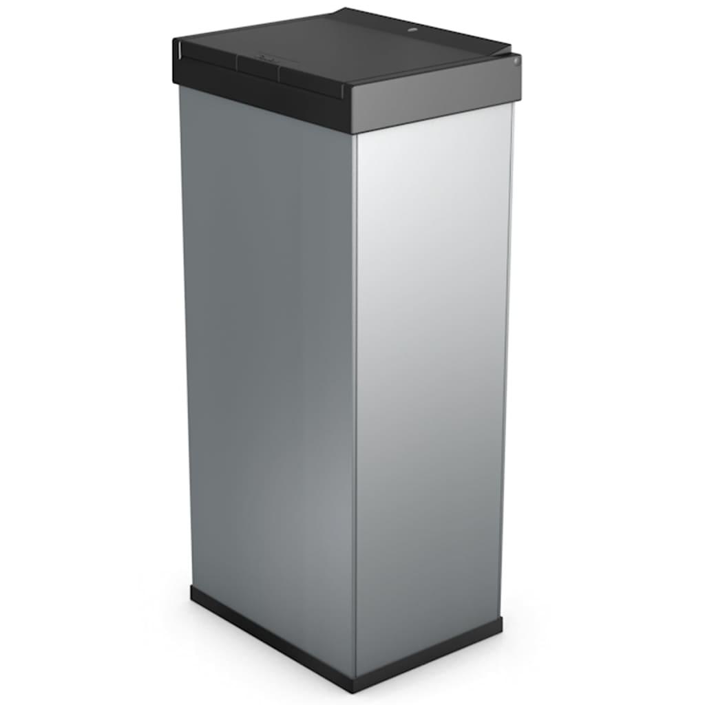 Afbeelding van Hailo Afvalbak Big-Box Touch maat XL 52 L zilver 0860-601