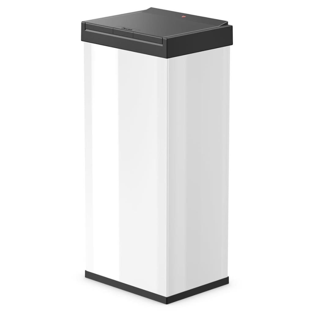 Afbeelding van Hailo Afvalbak Big-Box Touch maat XL 52 L wit 0860-901