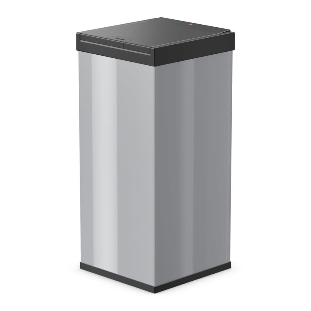 Afbeelding van Hailo Afvalbak Big-Box Touch maat XXL 71 L zilver 0880-301