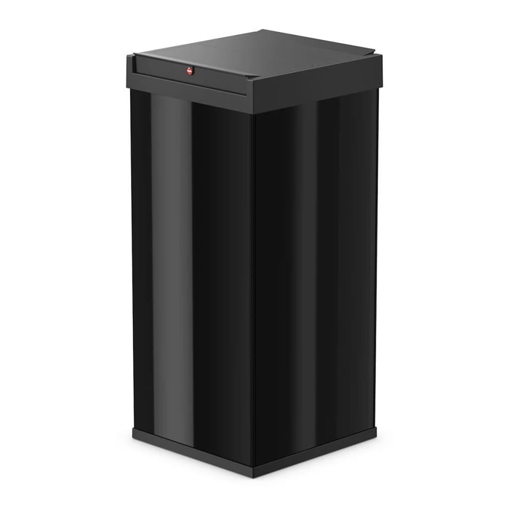 Afbeelding van Hailo Afvalbak Big-Box Swing maat XXL 71 L zwart 0880-701