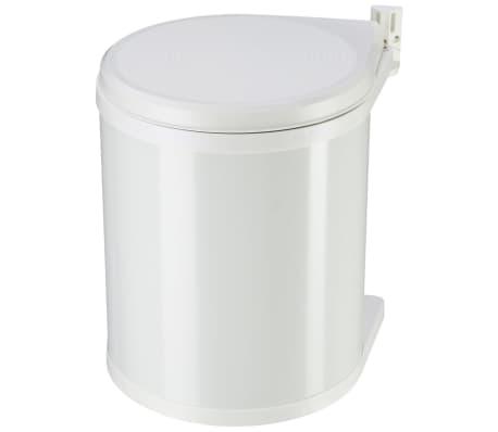 Hailo Papelera de armario Compact-Box tamaño M 15 L blanca 3555-001