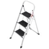 Hailo Escalera plegable K20 3 peldaños 105 cm 4397-901