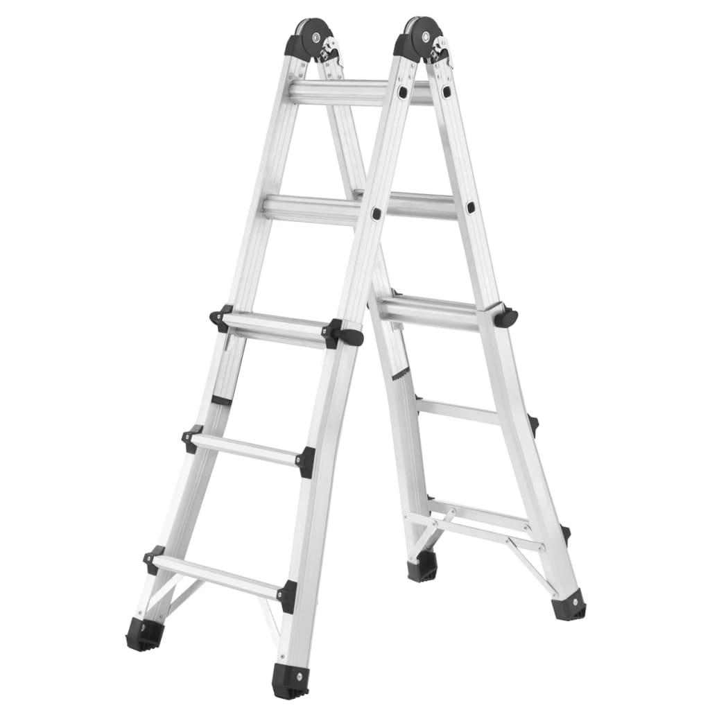 Hailo Forlengbar stige MTL 95 cm aluminium 7512-701