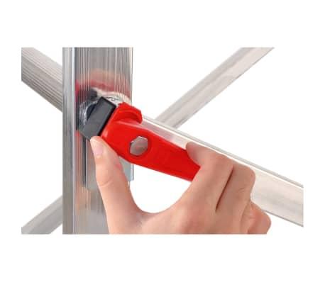 Shop Hailo stillads og stige 1-2-3 500 Combi 324 cm aluminium 9459-501 | vidaXL