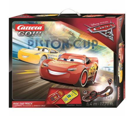 Carrera GO Set de pista coche miniatura Cars 3 Ride the Track 20062422[5/5]