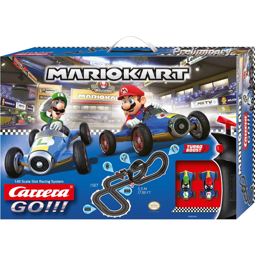 Carrera GO !!! Mario Kart Raceway + 2 Autos und 2-Controller 530 cm