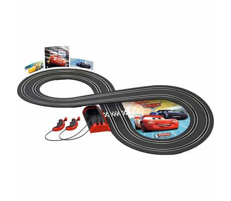 Spielzeugautos Carrera Go !! Rennstrecke 2 Autos 1:43 Rot Rennbahn Autorennbahn Komplettset