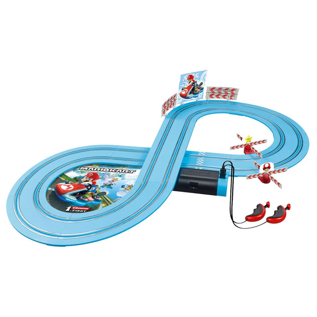 Carrera Set mașinuțe de curse și pistă FIRST Nintendo Mario Kart 1:50 vidaxl.ro