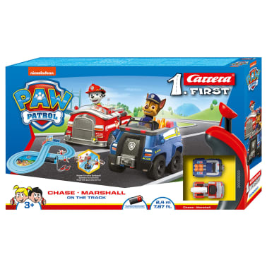 Carrera Coches y pista eléctrica FIRST Paw Patrol-On the Track 1:50[4/4]