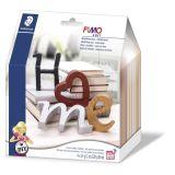 Kit Fimo Homedeco Lettres - Fimo