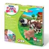 Staedtler Coffret de modelage FIMO pour enfants - Ferme aux animaux
