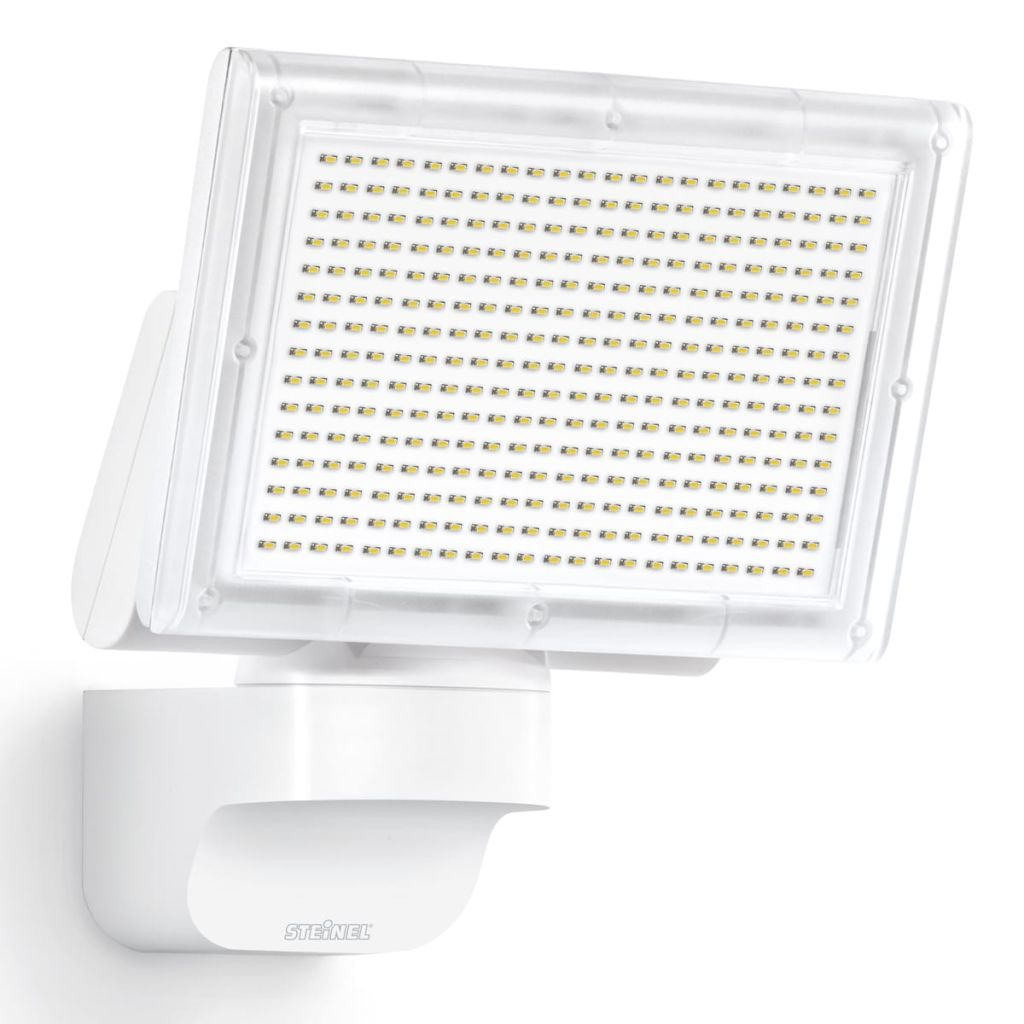 Steinel corp iluminat exterior XLED 3 spoturi alb vidaxl.ro