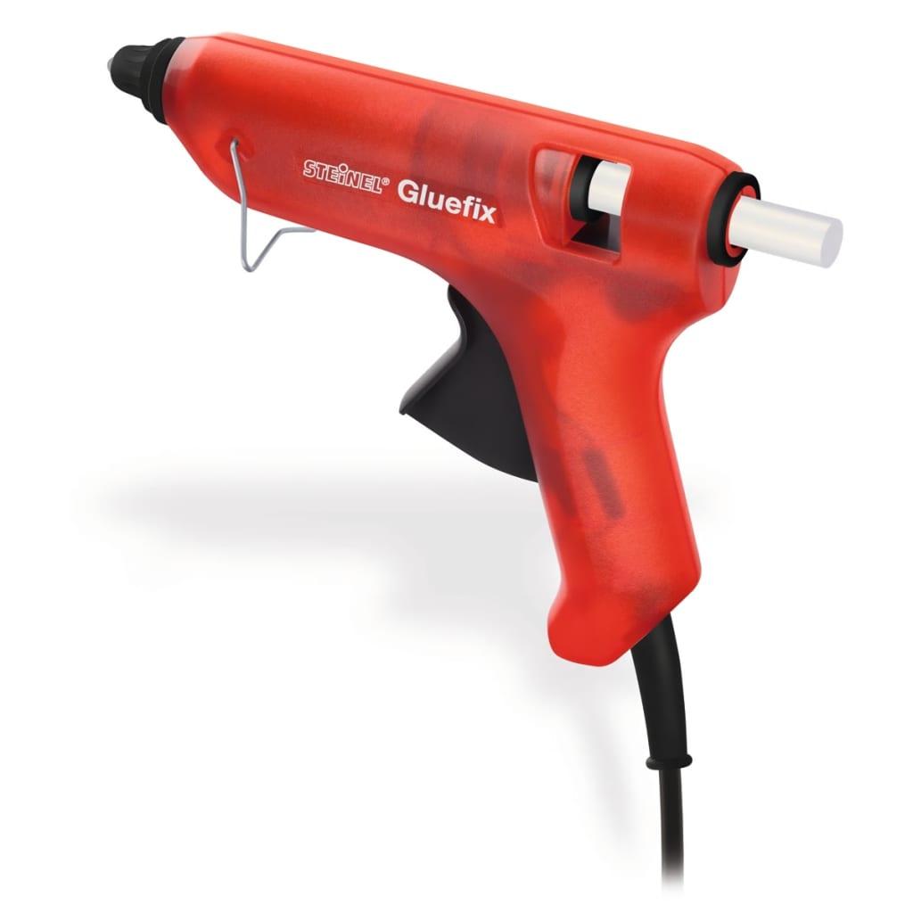 Červený aplikátor tavného lepidla Steinel Gluefix