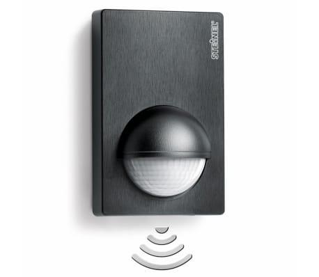 steinel infrarood bewegingsmelder is 180 2 zwart online kopen. Black Bedroom Furniture Sets. Home Design Ideas