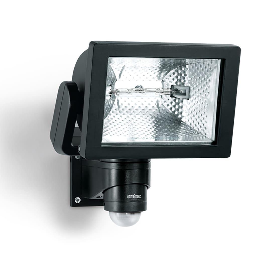 Steinel Reflector cu Senzor pentru exterior HS 500 DUO Negru imagine vidaxl.ro