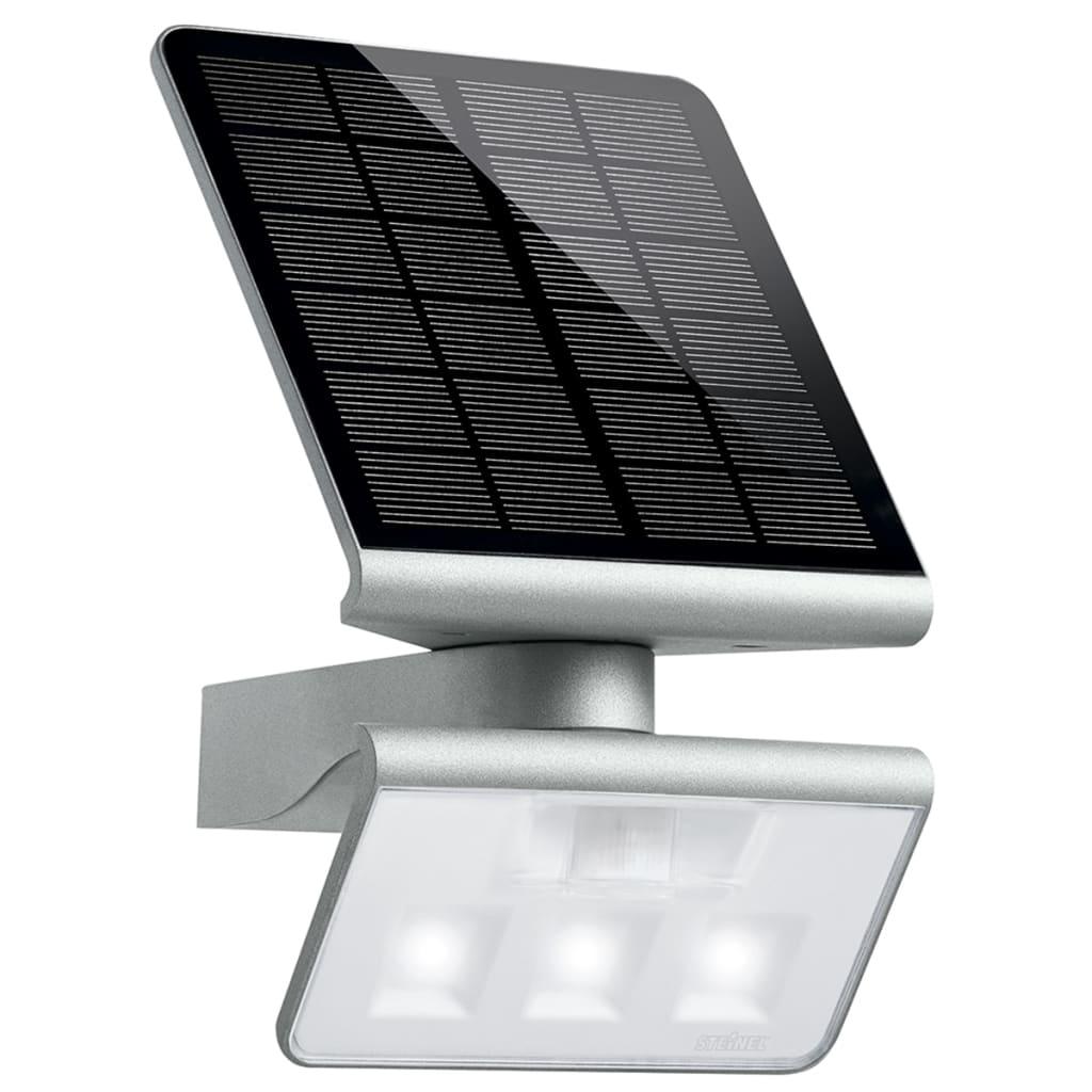 Steinel Lumină LED cu Senzori Solar L-S Argintiu imagine vidaxl.ro