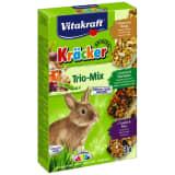 Kräcker trio-mix raisin-noix / légumes /popcorn-miel lapins nains p/