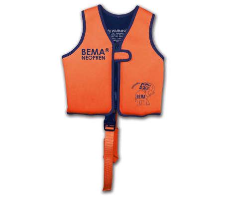 BEMA Chaleco de natación para niños naranja