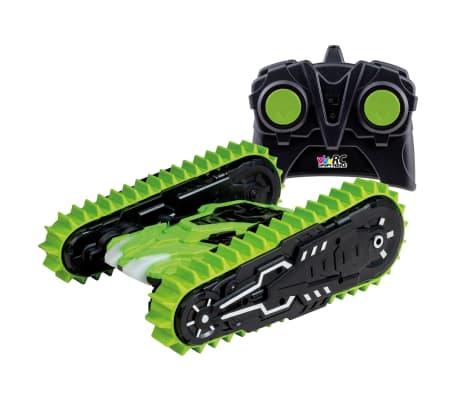 Happy People Camioneta Monster teledirigida T-Rex-Traxx verde y negro