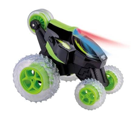 Happy People Coche acrobacias teledirigido Power Tumbler verde y negro