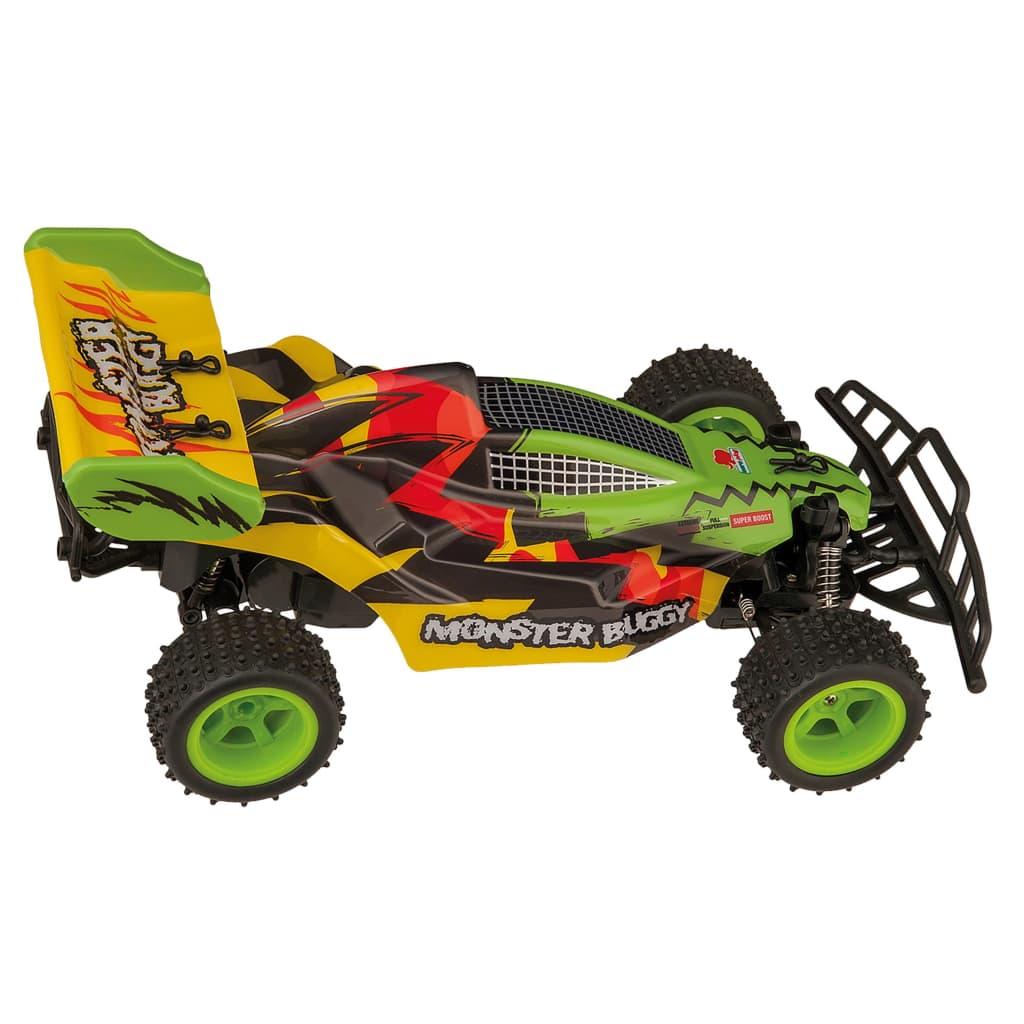 Happy People RC Monster Buggy 20 cm groen/geel