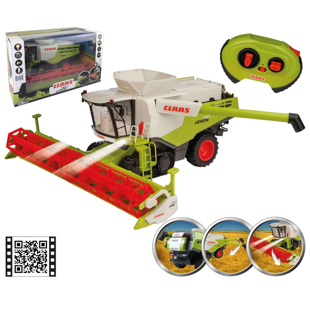 CLAAS Mașină de recoltat de jucărie RC LEXION 780 1:20 vidaxl.ro