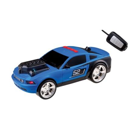 Happy People Coche de carreras de juguete Key Racer azul 28cm