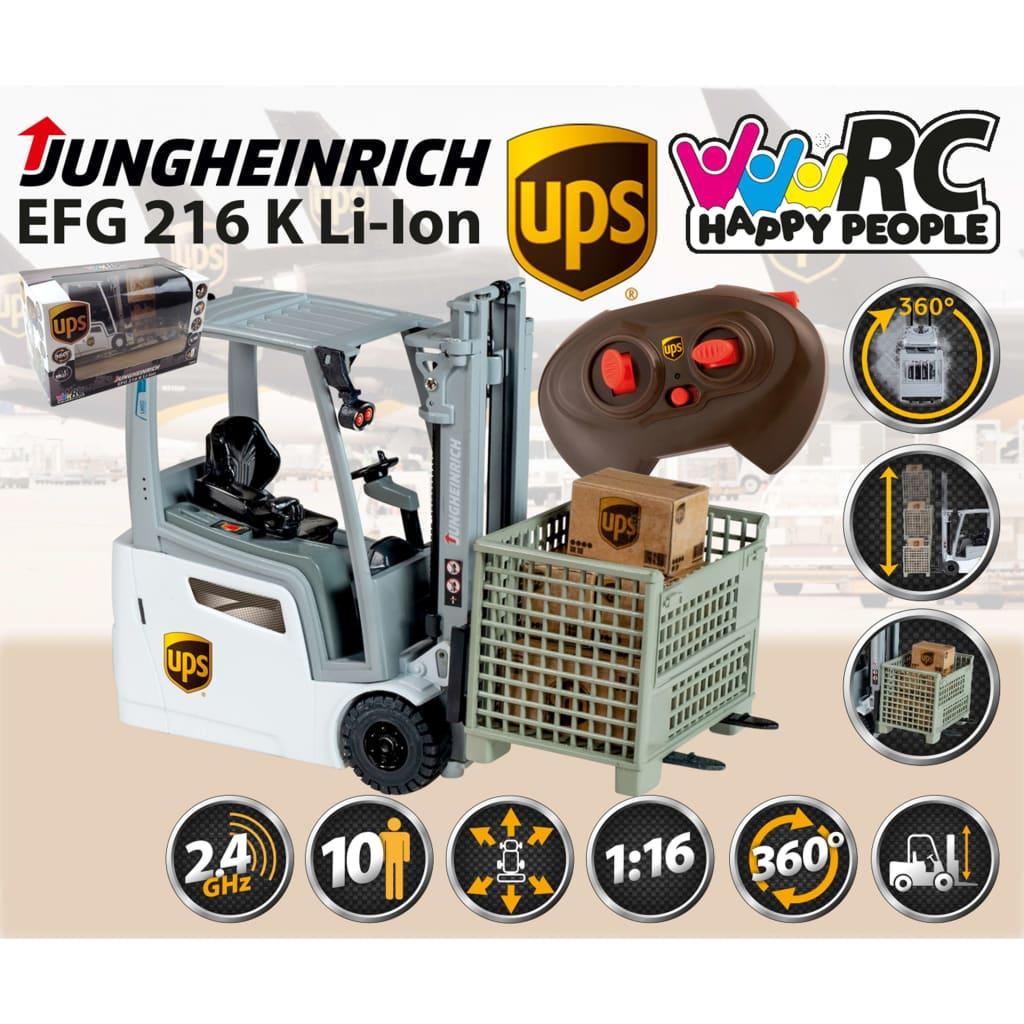 UPS Speelgoedvorkheftruck radiografisch Jungheinrich 1 13