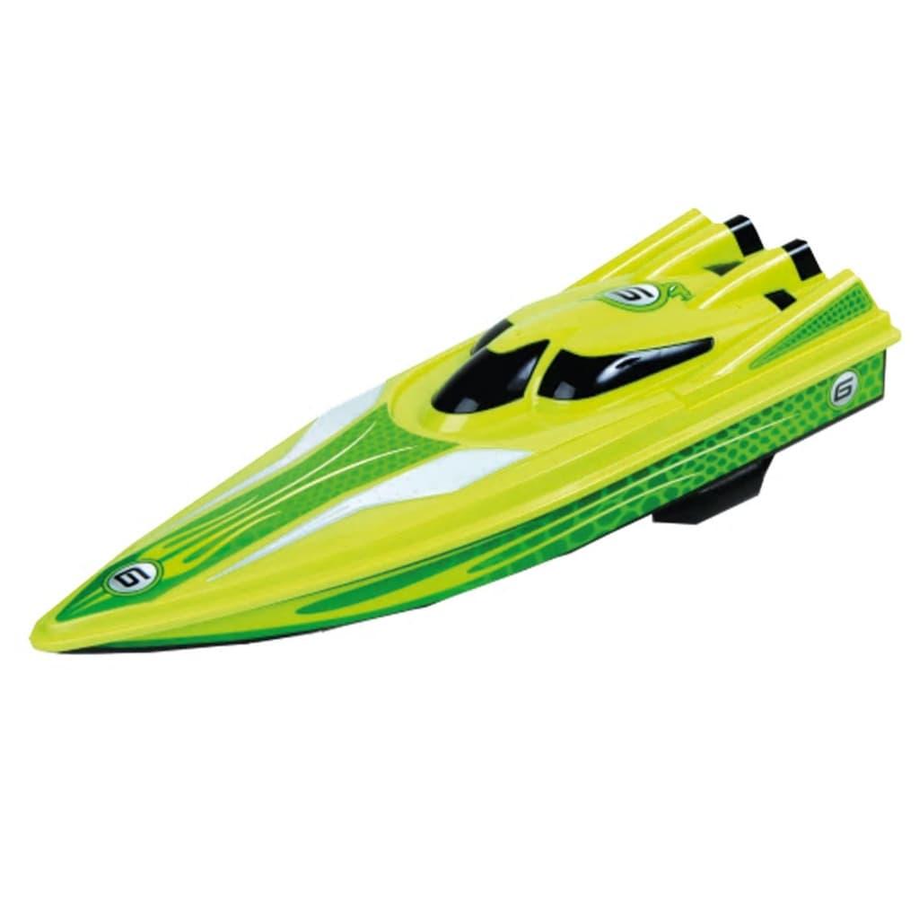 Happy People Speedboot radiografisch bestuurbaar 40 cm groen
