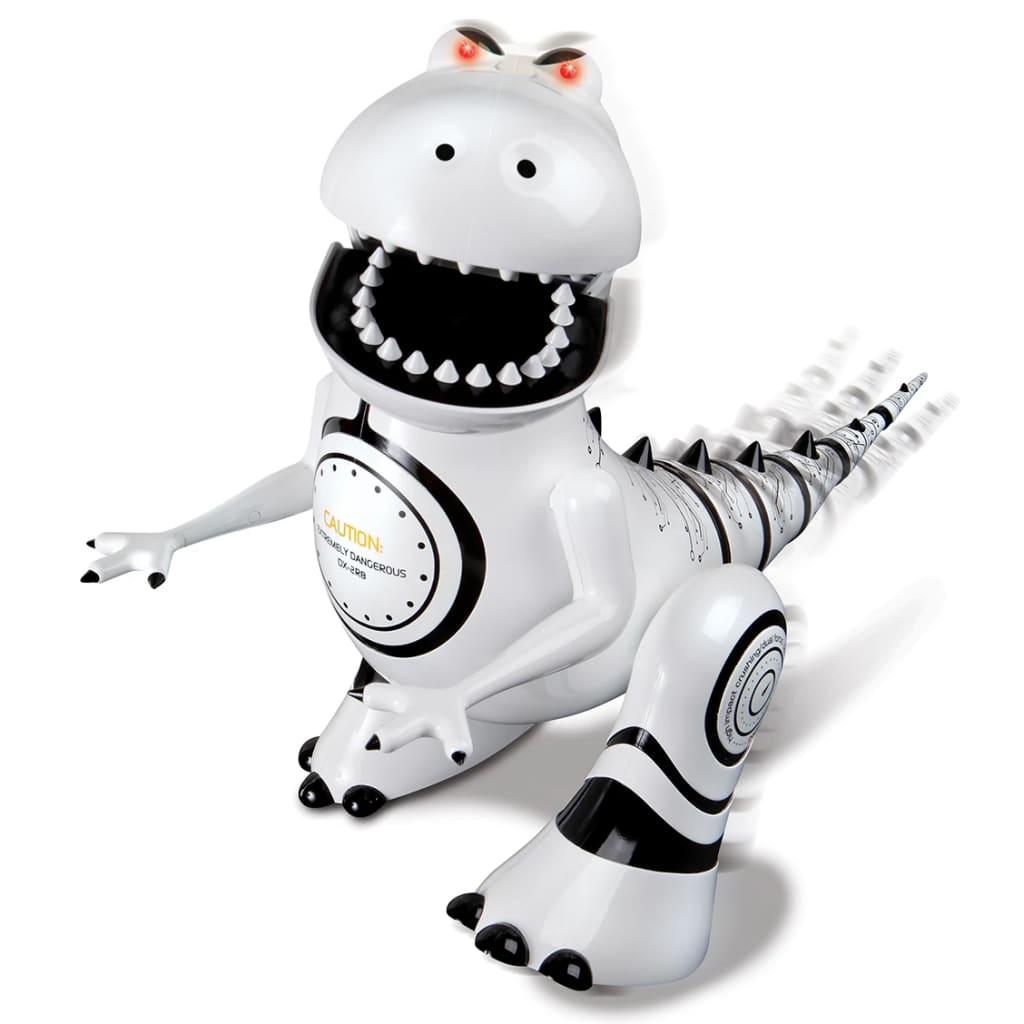 Happy People Robosaurus rijdende robot 25 cm wit