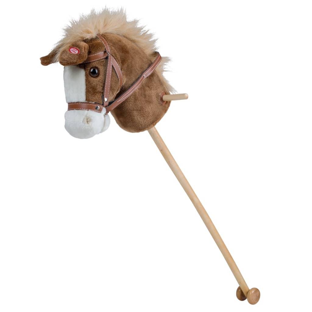 Happy People Cap de cal pe băț de jucărie cu sunet poza vidaxl.ro