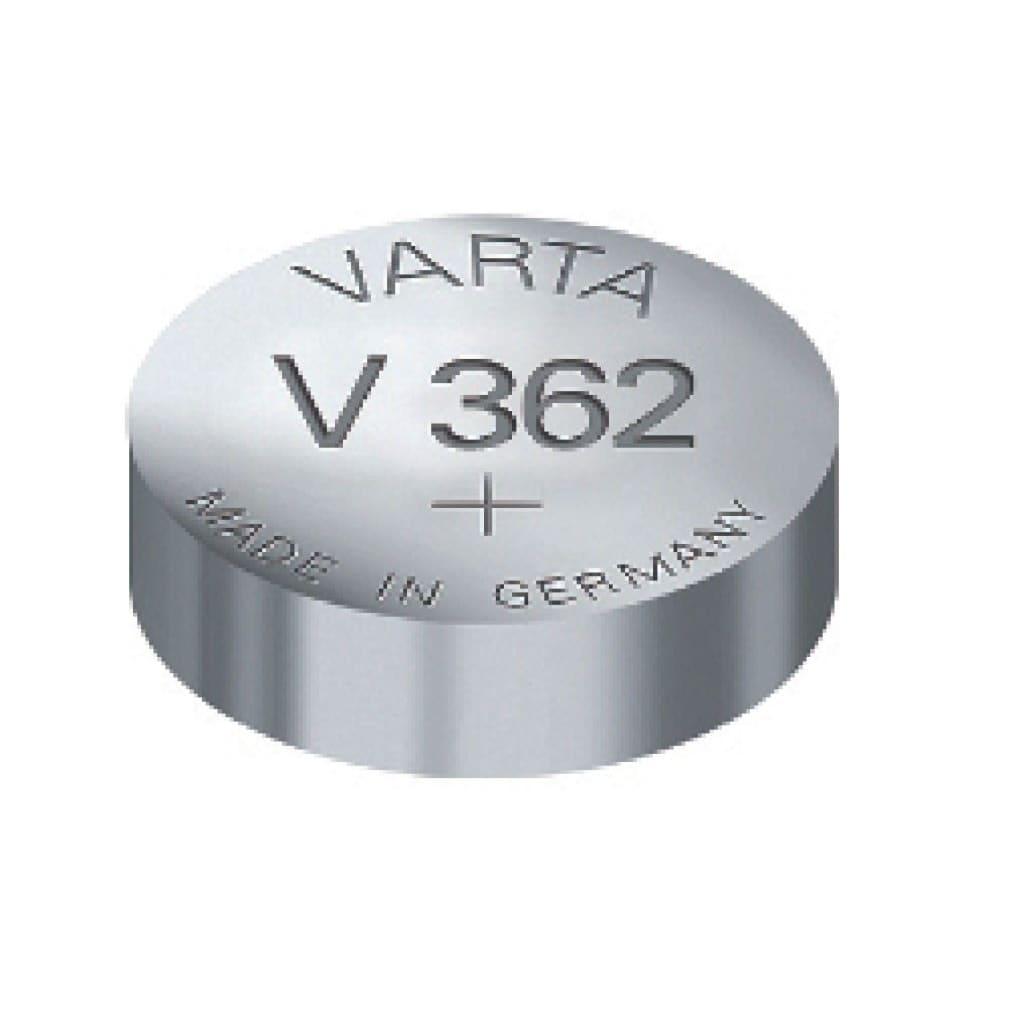 Varta V362 Knoopcel Batterij Zilver