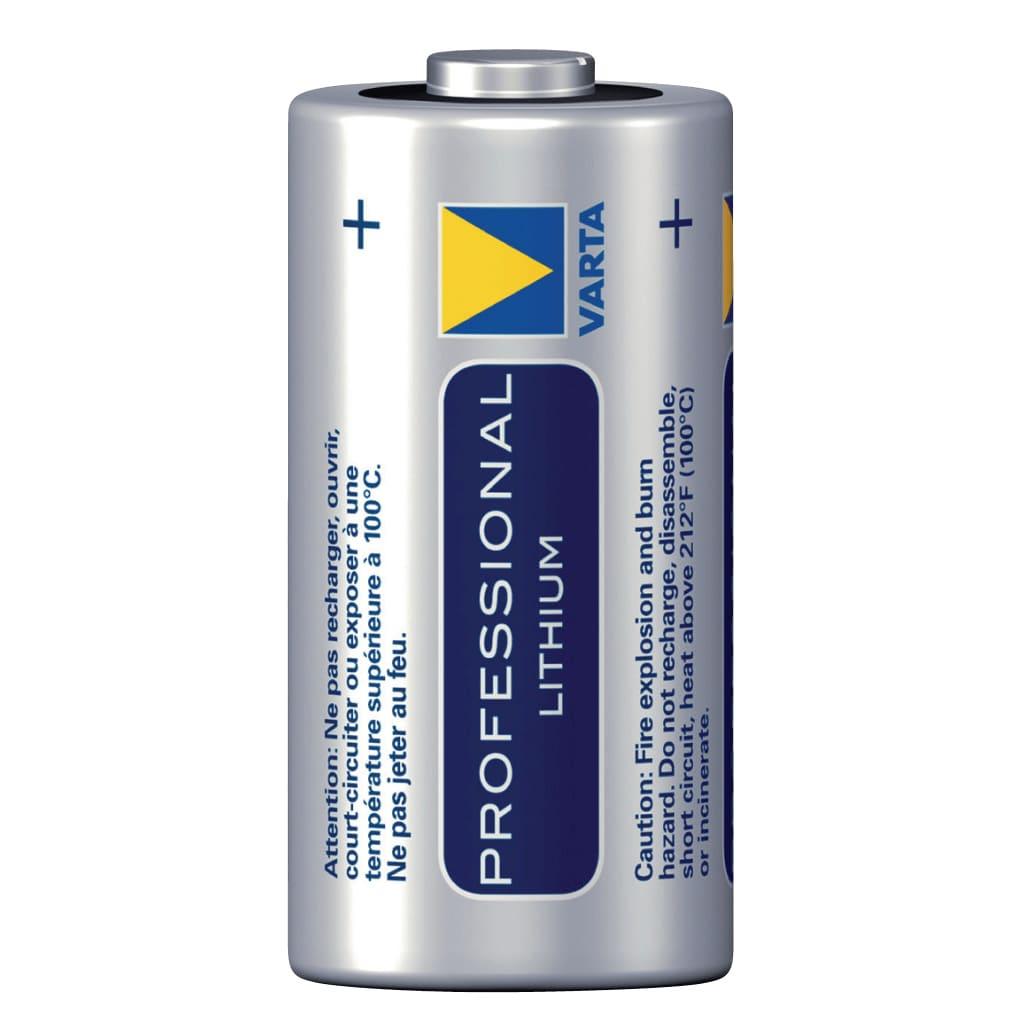 Varta CR123A Lithium Batterij