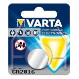 Knappcellsbatteri litium Varta 220842 3 V Silver