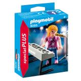 9095 Chanteuse avec synthé, Playmobil Autres
